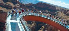 Lo Skywalk del Grand Canyon...provare l'ebrezza del vuoto