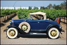 1931 Ford Model A Deluxe Roadster Frame-off Restoration  #Mecum #Monterey