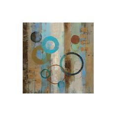Bubble Graffiti I Premium Giclee Print ($40) ❤ liked on Polyvore featuring home, home decor, wall art and giclee wall art