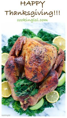 Easy Dry Brined Herb Butter Roasted Turkey - Cooking LSL baked turkey recipes for thanksgiving Easy Turkey Recipes, Rib Recipes, Roast Recipes, Easy Healthy Recipes, Thanksgiving Recipes, Holiday Recipes, Thanksgiving Turkey, Happy Thanksgiving, Healthy Eats