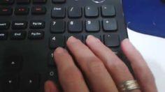 Digitação em teclado numérico aula 43