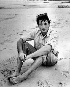 Gregory Peck was timelessly gorgeous.