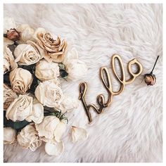 hello, flowers, and rose image Hello Monday, Hello Weekend, Hello Hello, Bon Weekend, Happy Monday, Collage Vintage, Cute Wallpapers, Girly Things, Holi