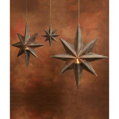 HomArt Hanging Metal Star Lantern - Antique Grey (150 ILS) ❤ liked on Polyvore featuring home, home decor, candles & candleholders, metal lantern, star lantern, star home decor, metal home decor and moroccan star lantern