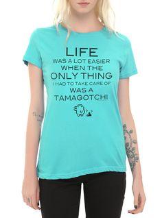 licensed tamagotchi shirt @ hot topic