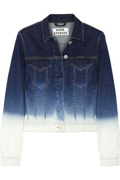 Shop now: Stace degrade stretch-denim jacket