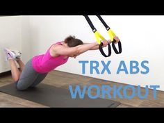 TRX Exercises for Women: TRX Atomic Push-Ups + TRX Ab Workout for Women - YouTube