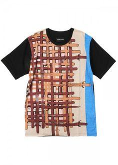 メンズ ケイマンバスケットT / Tシャツ : TSUMORI CHISATO ツモリチサト   HUMOR ユーモア