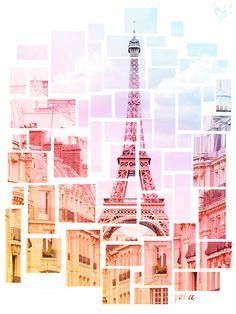 Oui, Paris! A little dream travel destination inspo to help her imagination take flight.