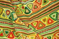 Citric Acid Retroghan Crochet Blanket <3