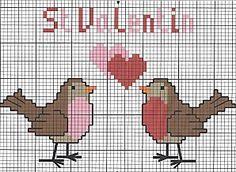 Freebies Valentine's 2 Robins 2 Hearts