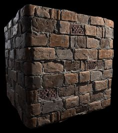 ArtStation - Tiling Sewer Wall, Daniel McGowan