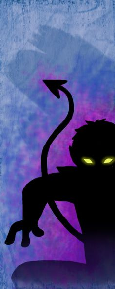 X-Men Colors: Nightcrawler I <3 this! My favorite X-Men character.