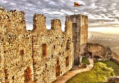 Rötteln Castle located above the Lörrach suburb of Haagen, lies in the extreme southwest corner of the German state of Baden-Württemberg. The fortification was one of the most powerful in the southwest, and today is the third largest castle ruin in Baden.