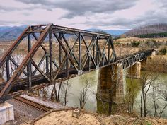 Old railroad trestle in Central Virginia.