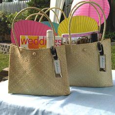 Palm Leaf Shoulder Bag- Medium $6.90 each