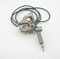 Mini Toy Tattoo Machine With Chain - Black MTM20-BK [MTM20-BK] - $2.67 : Tattoo Supplies and Equipment from Bodyart-Mart