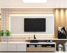 Good Housekeeping Mantra: 30 TV Wall Units To Organize And Stylize Your Home Home Living Room, Living Room Decor, Home Interior Design, Interior Modern, Tv Unit Furniture, Furniture Stores, Tv Unit Decor, Modern Tv Wall Units, Living Room Tv Unit Designs