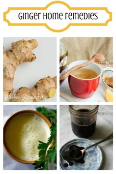 Ginger Home Remedies for Colds, Sore Throats, Migraines and More
