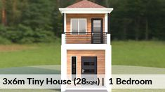 3 Storey House Design, 2 Storey House, Small House Design, Small Modern House Plans, Tiny House Plans, 1 Bedroom House, Open Space Living, Design Ideas, Interiors