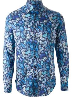 Shop Etro paisley print shirt in Apropos The Concept Store from the world's best independent boutiques at farfetch.com. Over 1000 designers from 300 boutiques in one website.