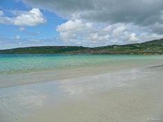 Turquoise sea + sandy beach, Ring of Kerry - Ireland