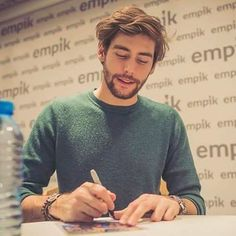 Alvaro Soler meets with his Polish fans and signs his album at Empik Junior in Warsaw, Alvaro Soler tiene un encuentro con sus fans polacos, y les firma su disco en la tienda Empik Junior en Varsovia, Beautiful Men, Beautiful People, Collateral Beauty, Album, Warsaw, How To Look Better, Celebrities, Celebs, Actors