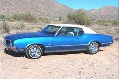 1972 Olds Cutlass Supreme.