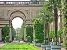 Orangerie Potsdam Sanssouci New Palace, West Berlin, Where To Go, Germany, Chateaus, Mansions, Park, Chinoiserie, House Styles