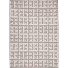 Jaipur Rugs Urban Bungalow Inky Sea Geometric Area Rug