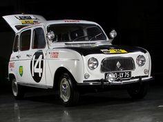 Renault R4L Rally Car