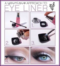 How to use our Mineral pigment to make eyeliner!!