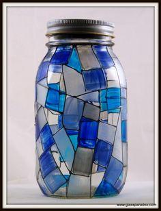 Sea-glass Solar Light - Glass Paradox