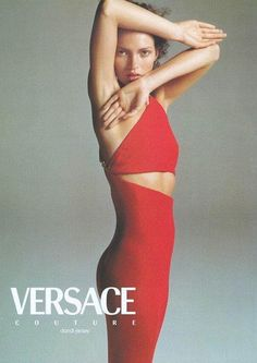 Kate Moss for Versace, 1996