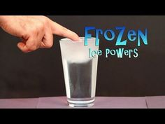 "Frozen Activities for Ice Powers Just Like Elsa the Snow Queen - YouTube Very ""cool  "" experiment!"