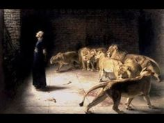 Religious artwork of a scene from the Old Testament in this painting from the late century.Daniel in the Lions Den, mezzotint Wall Art By: Briton Riviere from Great Big Canvas Caravaggio, Canvas Wall Art, Wall Art Prints, Canvas Prints, Big Canvas, Rembrandt, Daniel And The Lions, Lion's Den, Bible Stories