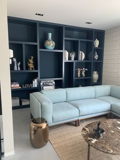 Living Room Shelves, Living Room Tv, Home And Living, Modern Bungalow Exterior, Kirkland Home Decor, Living Room Update, Space Saving Furniture, Home Wallpaper, Home Decor Bedroom