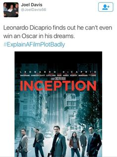 Explain a film plot badly - Inception