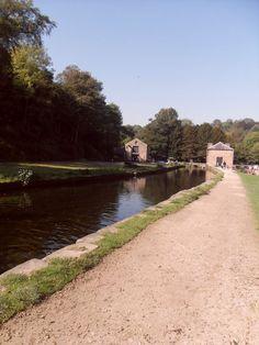 Cromford Canal, Cromford, Derbyshire. UK