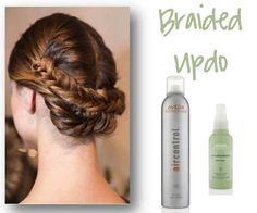 How To:  Braided Updo Courtesy of Aveda...