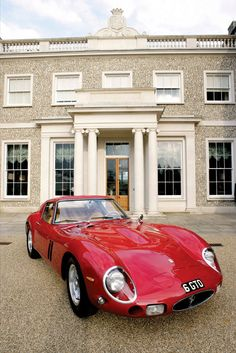 1962 Ferrari GTO!   On Top Gear, they couldn't even drive this car because the insurance was too high.