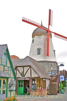 Solvang, CA. l want to go see this place one day.Please check out my website thanks. www.photopix.co.nz