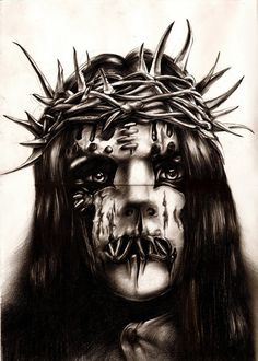 Just Slipknot number7 by ~Leidenschaften on deviantART. Joey Jordison!.