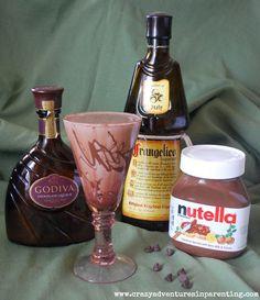 Nutella in Alcohol form... OMG Nutella Martini! I'm in heaven! More