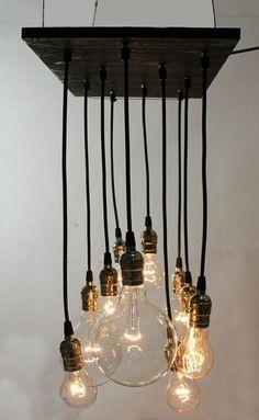 Hanging Clear Bulbs