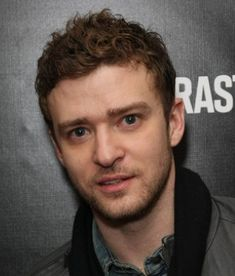 Justin Timberlake's Short Curly Hairstyles for Men