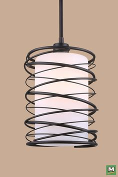 Patriot Lighting Marco Pendant With Oil Rubbed Bronze Finish And Flat Opal Gl