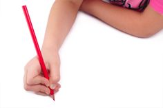 Here's what an OT looks for during a child's handwriting sample.