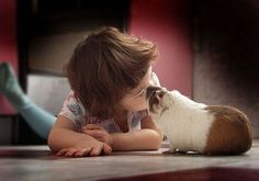 kids animals 26 Daily Awww: Double the cute, double the fun: Kids with animals (35 photos)