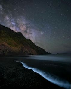 Oregon Coast Milky Way x Stars At Night, Day For Night, Amazing Photography, Nature Photography, Travel Photography, Art And Hobby, Night Pictures, Oregon Coast, Beautiful World